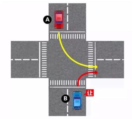 读懂路口让行规则 远离交通事故